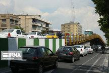 ترافیک سنگین در مسیرهای بزرگراهی پایتخت