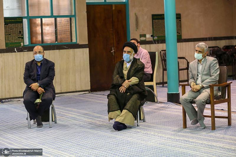 دیدار اعضای مجمع ایثارگران با سید حسن خمینی