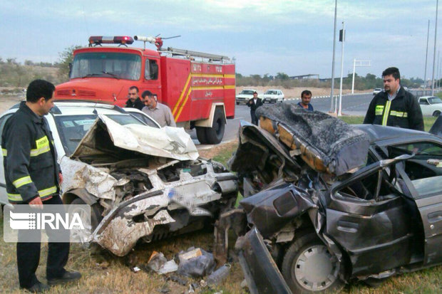 هفت درصد تولید ناخالص ملی کشور در تصادفات رانندگی از بین میرود