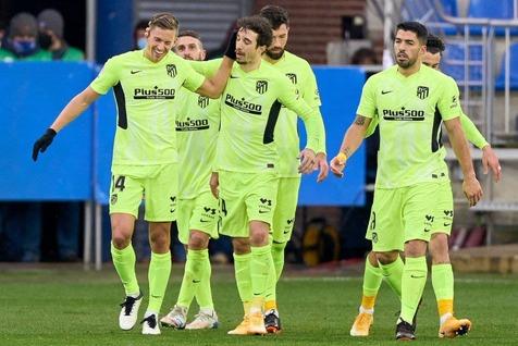 اتلتیکو مادرید جایگاهش را در صدر جدول تثبیت کرد