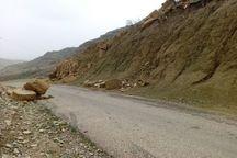 تردد در جاده پاعلم - کرکی در شهرستان پلدختر مشکل آفرین شده است