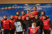 بانوان وزنه بردار فارس هشت مدال کشوری کسب کردند