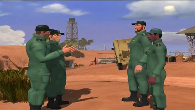 انیمیشن های دفاع مقدسی