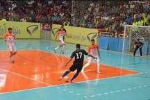 تیم امید آتلیه طهران قم، شانس اول قهرمانی در لیگ برتر فوتسال کشور است