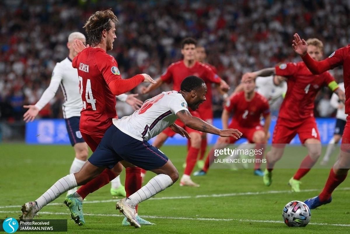 انگلیس با اشتباه بزرگ داور به فینال یورو رسید؟! +عکس و ویدیو