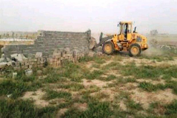 850 مورد تغییر کاربری اراضی کشاورزی دماوند تخریب شد