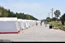 سیل زدگان در خوزستان همچنان در حال ترک اردوگاهها هستند