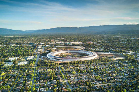 کمپ اپل در فهرست گرانقیمتترین ساختمانهای جهان