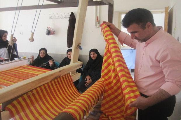 نخستین پارچه بافت هنرمندان اردستانی آماده ورود به بازار شد