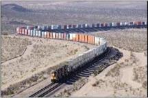 قطار تجاری چین از مرز ریلی اینچه وارد ایران شد