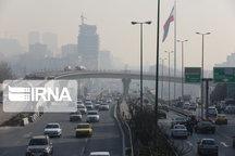 احتمال گرد و خاک در غرب تهران