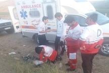مرگ موتورسوار در تصادف با پرشیا در ورودی روستای سوداغلن +عکس