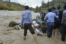 10تیم تجسس بدنبال مفقودان احتمالی سیلاب کاکرود گیلان هستند