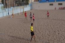 تیم فوتبال ساحلی روستایملاباشی یزد به مسابقات کشوری راه یافت