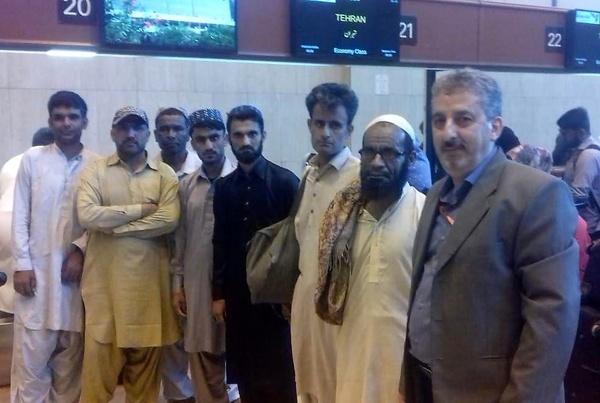 ۶ ملوان ایرانی آزاد شدند