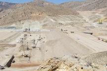 پیشرفت ۷۰ درصدی سدگلمندره  در خراسان شمالی