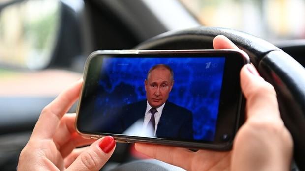 حمله سایبری گسترده همزمان با گفت و گوی مستقیم پوتین با مردم روسیه