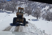 جاده 3 روستای برف گیر دهدز بازگشایی شد