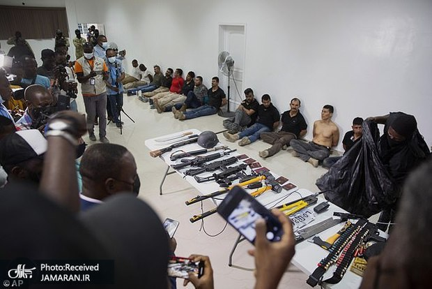 عکس/ اتباع آمریکایی در «جوخه ترور خارجی» رئیس جمهور هائیتی کیستند؟