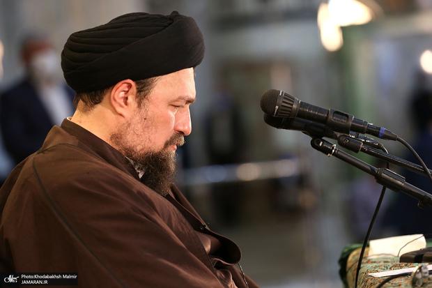 هشدار سید حسن خمینی در مورد خطرات کینه و در گذشته ماندن