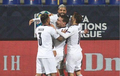 صعود ایتالیا و بلژیک به نیمه نهایی لیگ ملت ها/ ادامه شکست ناپذیری شاگردان مانچینی