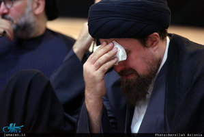 مراسم عزاداری شام غریبان در حرم مطهر امام خمینی(س)