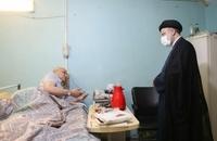 حضور رییسی در آسایشگاه جانبازان امام خمینی (ره) (5)