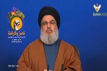 نصرالله: جنگ علیه ایران، جنگ با کل محور مقاومت خواهد بود