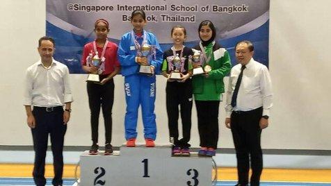 مدال برنز دختر پینگ پنگ باز ایرانی در آسیا