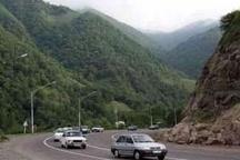 تردد روان خودروها در محورهای هراز و چالوس  تغییر محدودیتهای ترافیکی