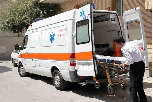 نوزاد گچسارانی در آمبولانس متولد شد