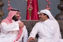 امیر قطر به سعودیها تبریک گفت!