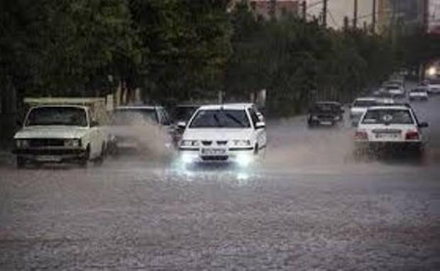 بارش باران مدارس کهنوج را به تعطیلی کشاند