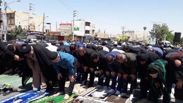 نماز ظهر عاشورا در دهدشت اقامه شد