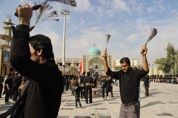 جنوب شرق استان تهران در تاسوعا غرق در عزا و ماتم است