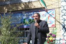رزمایش پدافند غیرعامل در مدارس فیروزکوه برگزار شد
