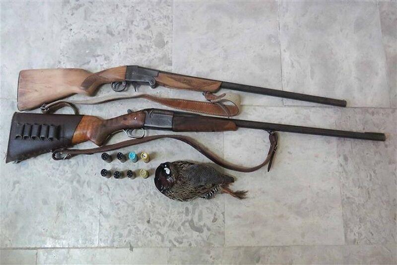 دستگیری ۲۵ شکارچی و سه سارق در مناطق مرزی گنبدکاووس
