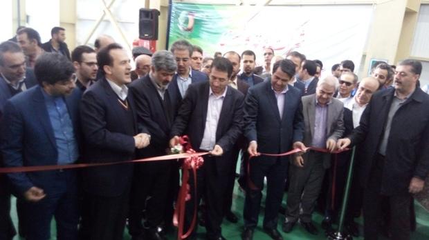 طرح توسعه یک واحد تولید کاغذ با حضور وزیر صنعت در یزد آغاز شد