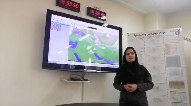 گزارش ویدیویی هواشناسی روز دوشنبه سیزدهم آبان ۱۳۹۸