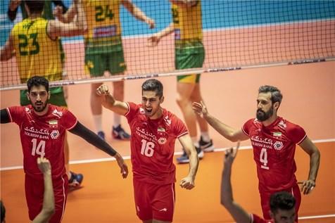 استرالیا بردهای والیبالیست های ایران را دو رقمی کرد+ عکس و فیلم