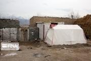 ٧٧۵ دستگاه چادر در بین زلزلهزدگان قطور توزیع شد