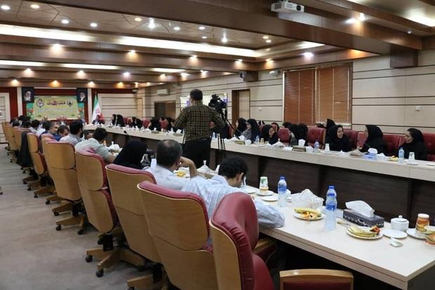 حاشیه های نشست خبری استاندار قزوین