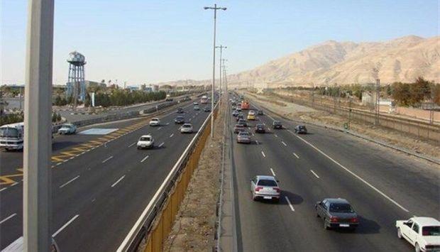 ترافیک آزاد راه تهران - کرج روان می شود