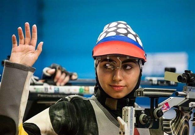بانوی تیرانداز بوشهری موفق به کسب سهمیه  المپیک ۲۰۲۰ شد