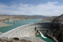 ذخیره حجم آب سد بارزو شیروان به 42 میلیون مترمکعب رسید