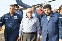 وزیر نفت ازتلاشگران مهار چاه 147 رگ سفید تقدیر کرد