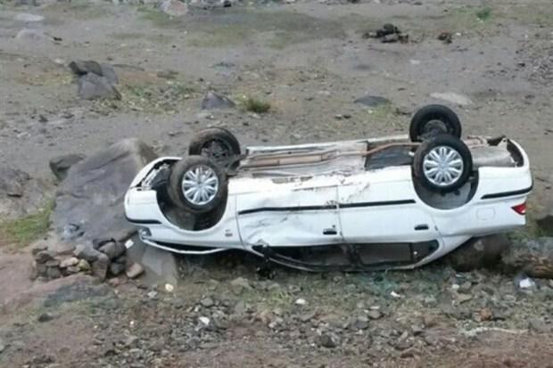 واژگونی 2 خودرو در جاده های خراسان جنوبی 3 کشته داشت