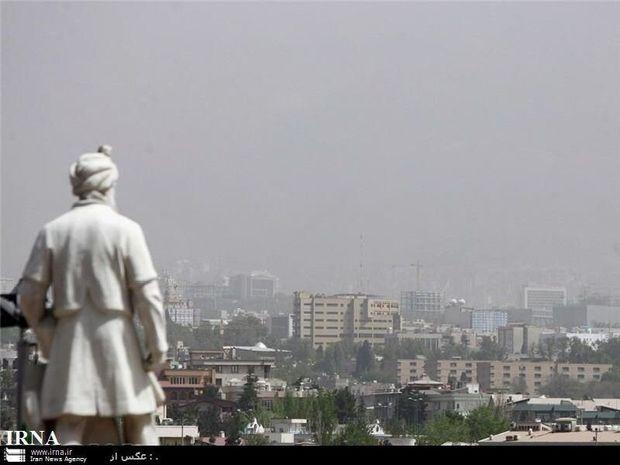 آلودگی هوای مشهد وارد پنجمینروز پیاپی شد