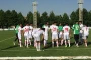 آخرین تمرین تیم فوتبال امید پیش از دیدار با ازبکستان