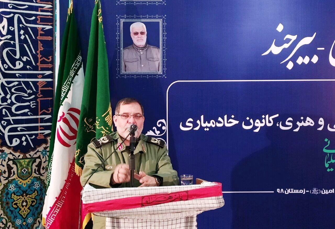 فرمانده سپاه انصارالرضا: حضور در انتخابات با فکر و مطالعه باشد